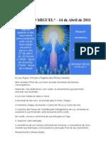 Arcanjo Miguel 14 de Abril