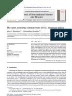 Consequencias Economia Aberta Da Pol Monetaria Dos EUA J Int Money and Finance