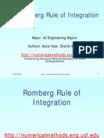 Romberg Method