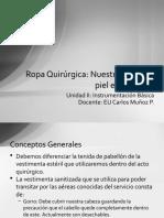 04-Ropa Quirúrgica.Nuestra segunda piel en pabellon