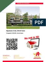 Brochure Nijenheim 3128 Te Zeist - verkocht binnen 2 maanden!!