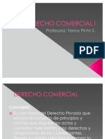 POWER DERECHO COMERCIAL I (1° PARTE)