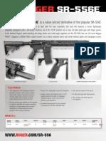 Ruger SR-556E Carbine Brochure