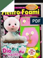 Revista Fieltro y Foami Día de las madres