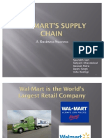 Wal-Mart Supply Chain OM
