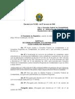 Decreto Lei 9295 - 27MAIO46 - Cria o CFC