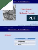 Micro Structures & Properties