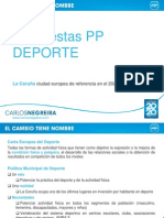 PROPUESTAS PP DEPORTE