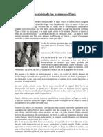 La Desaparicion de Las Hermanas Perez 1 Martac Barbara Rocio Macarena