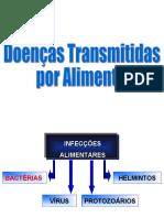 Microbiologia - Doenças Transmitidas por Alimentos (Gram +)