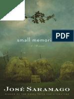 Small Memories by José Saramago (Excerpt)