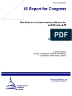 The Federal Activities Inventory Reform Act (a-76)