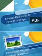 Sistemas Operativos de Consolas de Juego