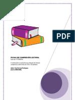 Fichas de Compresión lectora .nivel 3º