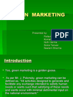 Green Marketing Ppt