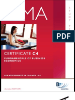 CIMAFundamental of Business Economics Study Text_decrypted