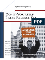Do It Yourself Press Release Kit