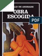 Oswald de Andrade Obra Escogida Manifiestos