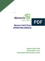 Vx810 Duet Operating Manual
