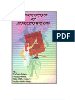 Administrative Law N DLM