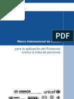aplicación del Protocolo contra la Trata de Personas