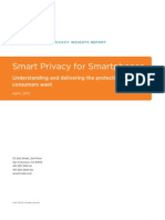 TRUSTe Consumer Mobile Privacy Insights Report