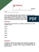 Cuestionario I (Tarea 1)