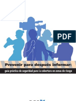 Guia Practica de Seguridad para la Cobertura en Zonas de Riesgo