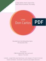 Verdi - Don Carlos booklet