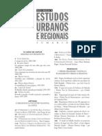 ACSELRAD, h. Discurso Da Sustentabilidade Urbana