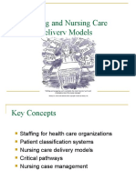 Nursing Care Delivery
