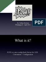 Pow - Zero Config Rack Server