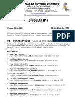CIRCULAR N-7 2010-2011