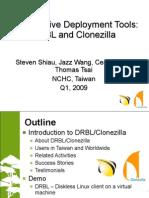 Drbl Clonezilla HPC Asia 2009