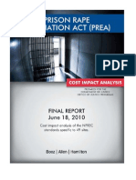 PREA Cost Impact Analysis