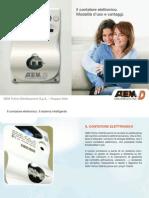 Depliant Contatore Elettronico Apr08