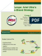 PG Ariel Ultra EuroBrand Strategy
