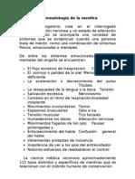 Sintomatologia de La Mentira