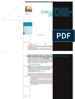 Diálogo con los Grupos de Interés. Guía práctica para empresas y stakeholder