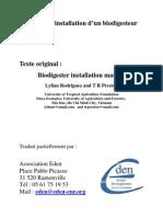 Manuel Installation Biodigesteur
