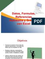 Formulas y Gráficos en Excel 2007