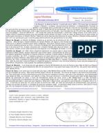 Tema para o vestibular - Passagem Marítima ou Canal