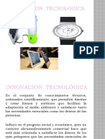 INNOVACION  tecnológica