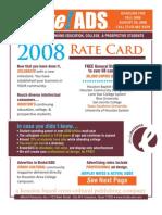 BrokeADS 2008 RateCard