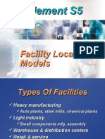 Facility Location Models