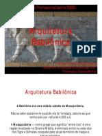 Aula 04 - Arquitetura Babilônica