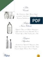 Carta Agua y Gin