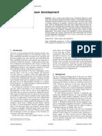 Laser Histroy Paper