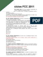 EXERCÍCIOS CONST ADM PENAL 2011