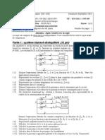 Exam Iup1 Stpi Septembre 03